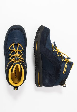 CITY STOMP BUNGEE MID GTX - Bottines à lacets - navy