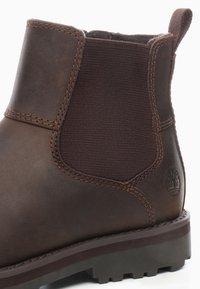 Timberland - CHELSEA - Korte laarzen - dark brown - 5