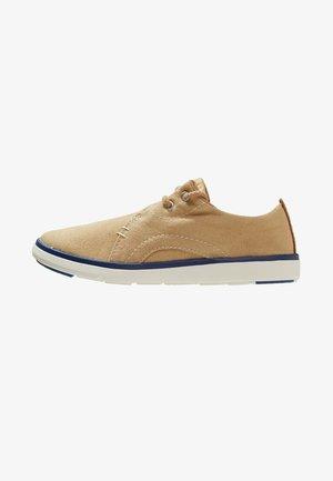GATEWAY PIER OXFORD - Volnočasové šněrovací boty - medium beige