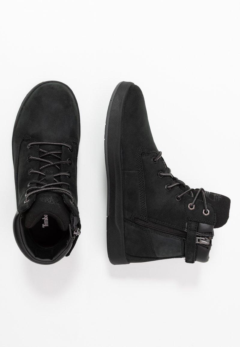 Timberland - DAVIS SQUARE 6 INCH - Sneakers alte - black