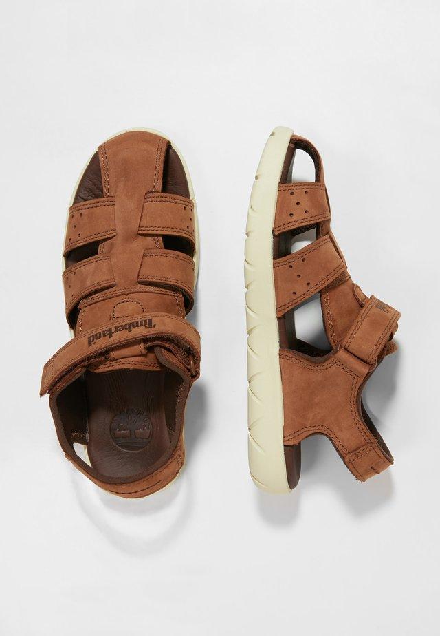 NUBBLE FISHERMAN - Sandals - medium brown