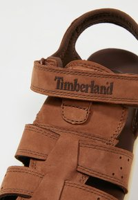 Timberland - NUBBLE FISHERMAN - Riemensandalette - medium brown - 2