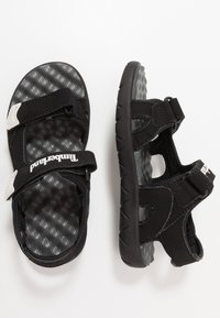Timberland - PERKINS ROW 2-STRAP - Sandals - black - 0