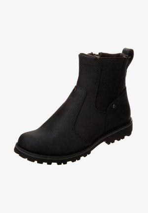 Korte laarzen - black smooth