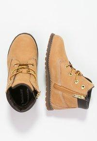 Timberland - POKEY PINE  - Lace-up ankle boots - wheat - 1