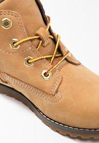 Timberland - POKEY PINE  - Lace-up ankle boots - wheat - 5