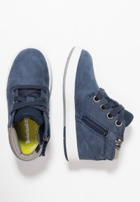 Timberland - DAVIS SQUARE - Lace-up ankle boots - navy - 0