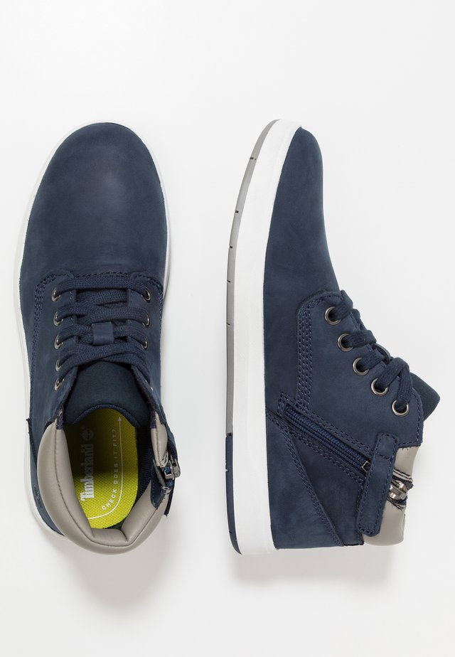 DAVIS SQUARE - High-top trainers - navy