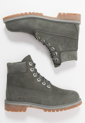 6 IN PREMIUM WP BOOT - Bottines à lacets - dark grey
