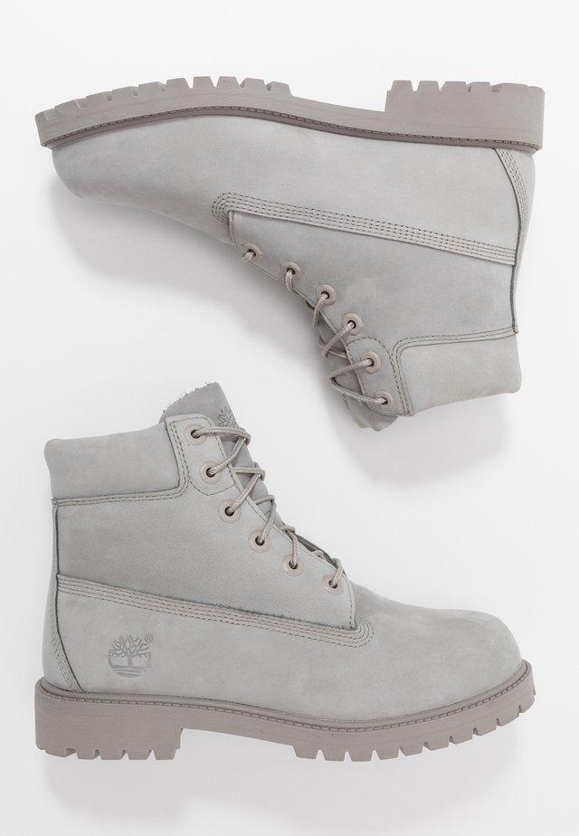 6 IN PREMIUM WP BOOT - Schnürstiefelette - medium grey