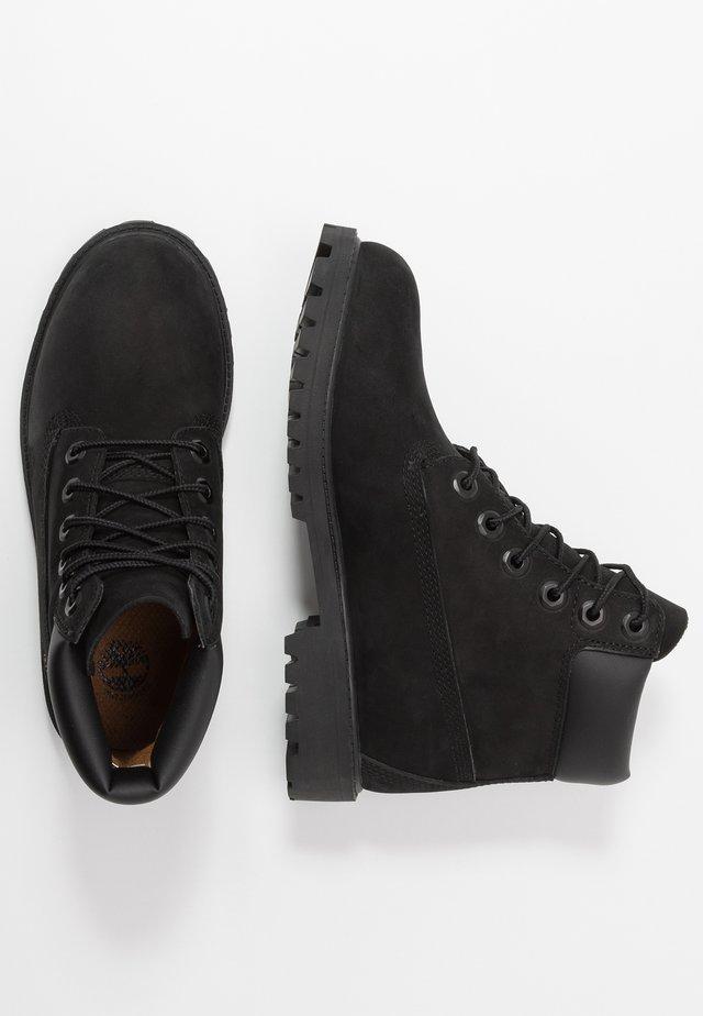 6 IN PREMIUM WP BOOT - Schnürstiefelette - black
