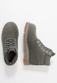 Timberland - 6 IN PREMIUM WP BOOT - Lace-up ankle boots - dark grey - 0