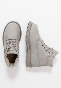 Timberland - 6 IN PREMIUM WP BOOT - Lace-up ankle boots - medium grey - 0