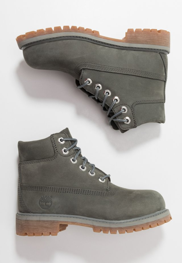 6 IN PREMIUM WP BOOT - Lace-up ankle boots - dark grey