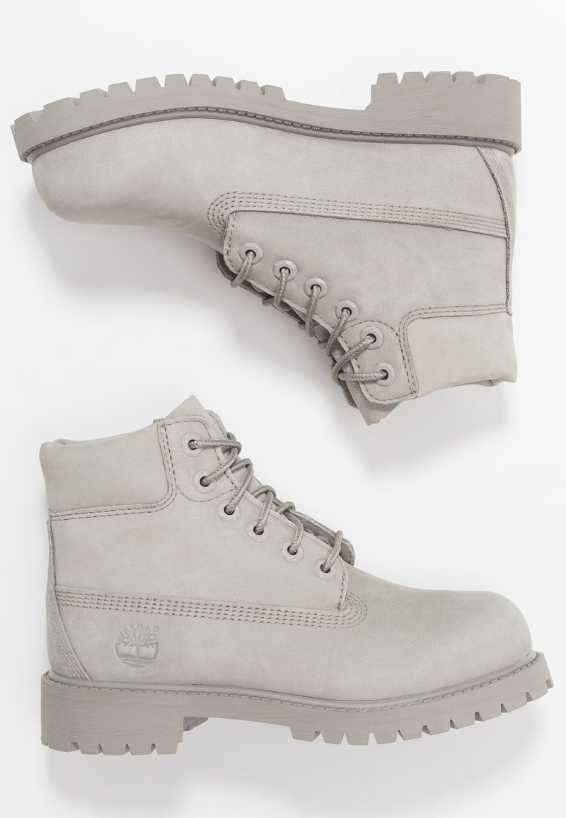 Timberland - 6 IN PREMIUM WP BOOT - Lace-up ankle boots - medium grey