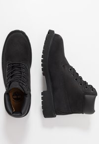Timberland - 6 IN PREMIUM WP BOOT - Šněrovací kotníkové boty - black - 0
