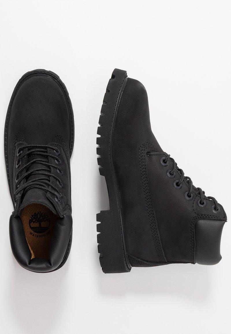 Timberland - 6 IN PREMIUM WP BOOT - Šněrovací kotníkové boty - black