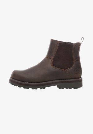 COURMA CHELSEA - Korte laarzen - dark brown