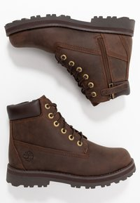 Timberland - COURMA TRADITIONAL - Lace-up ankle boots - dark brown - 0