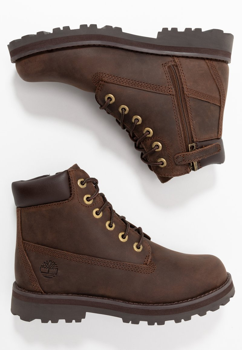 Timberland - COURMA TRADITIONAL - Lace-up ankle boots - dark brown