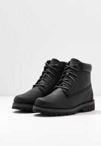 Timberland - COURMA TRADITIONAL - Lace-up ankle boots - black - 3