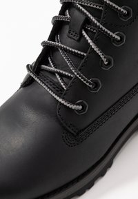 Timberland - COURMA TRADITIONAL - Lace-up ankle boots - black - 2