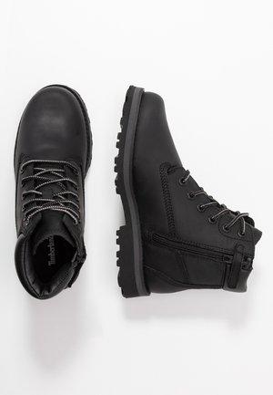 COURMA TRADITIONAL - Šněrovací kotníkové boty - black