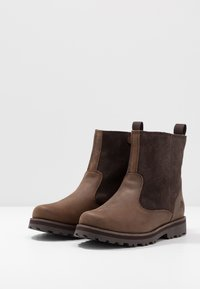 Timberland - COURMA LINED BOOT - Schnürstiefelette - dark brown - 3