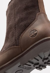 Timberland - COURMA LINED BOOT - Schnürstiefelette - dark brown - 2