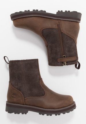 COURMA WARM LINED BOOT  - Classic ankle boots - dark brown