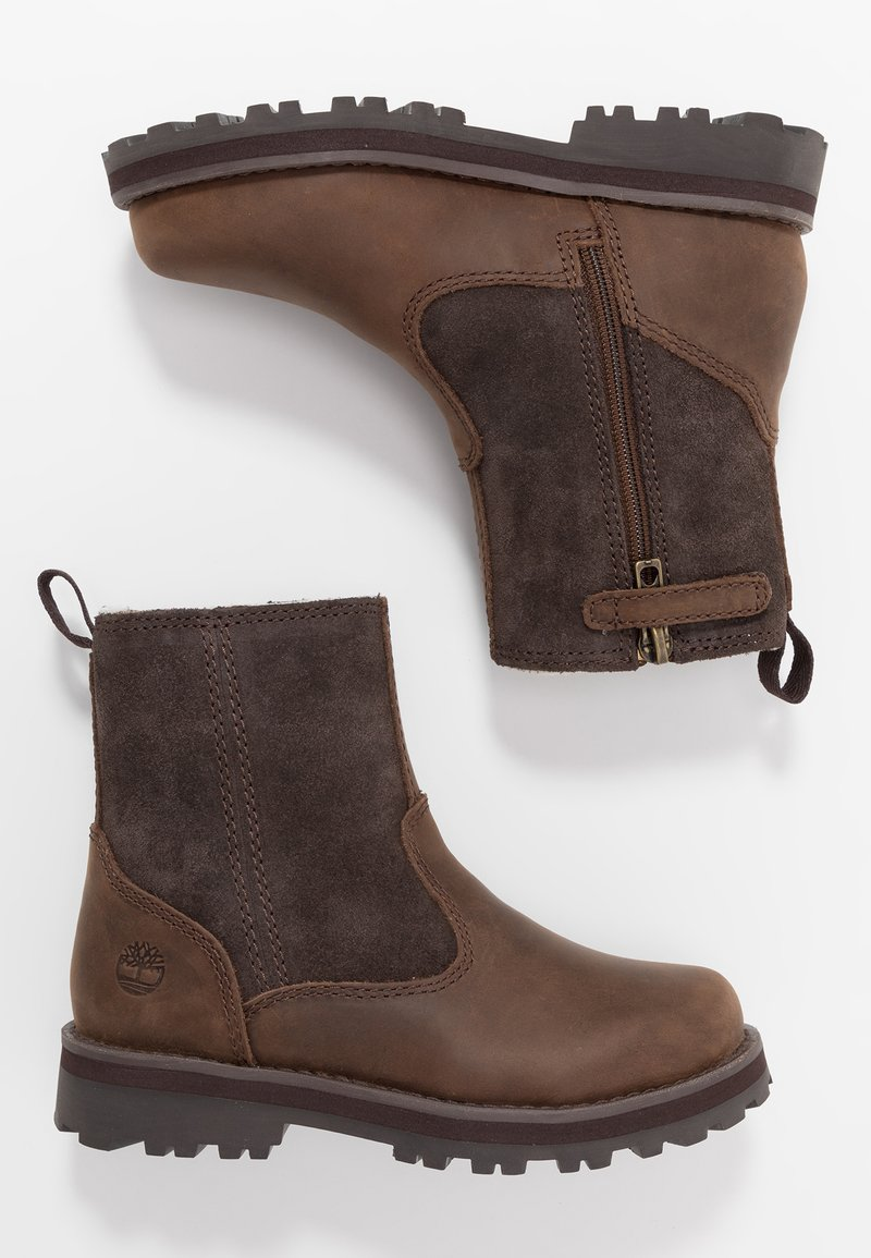 Timberland - COURMA WARM LINED BOOT  - Classic ankle boots - dark brown