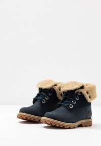 Timberland - 6 IN WP BOOT - Lace-up ankle boots - medium blue - 3