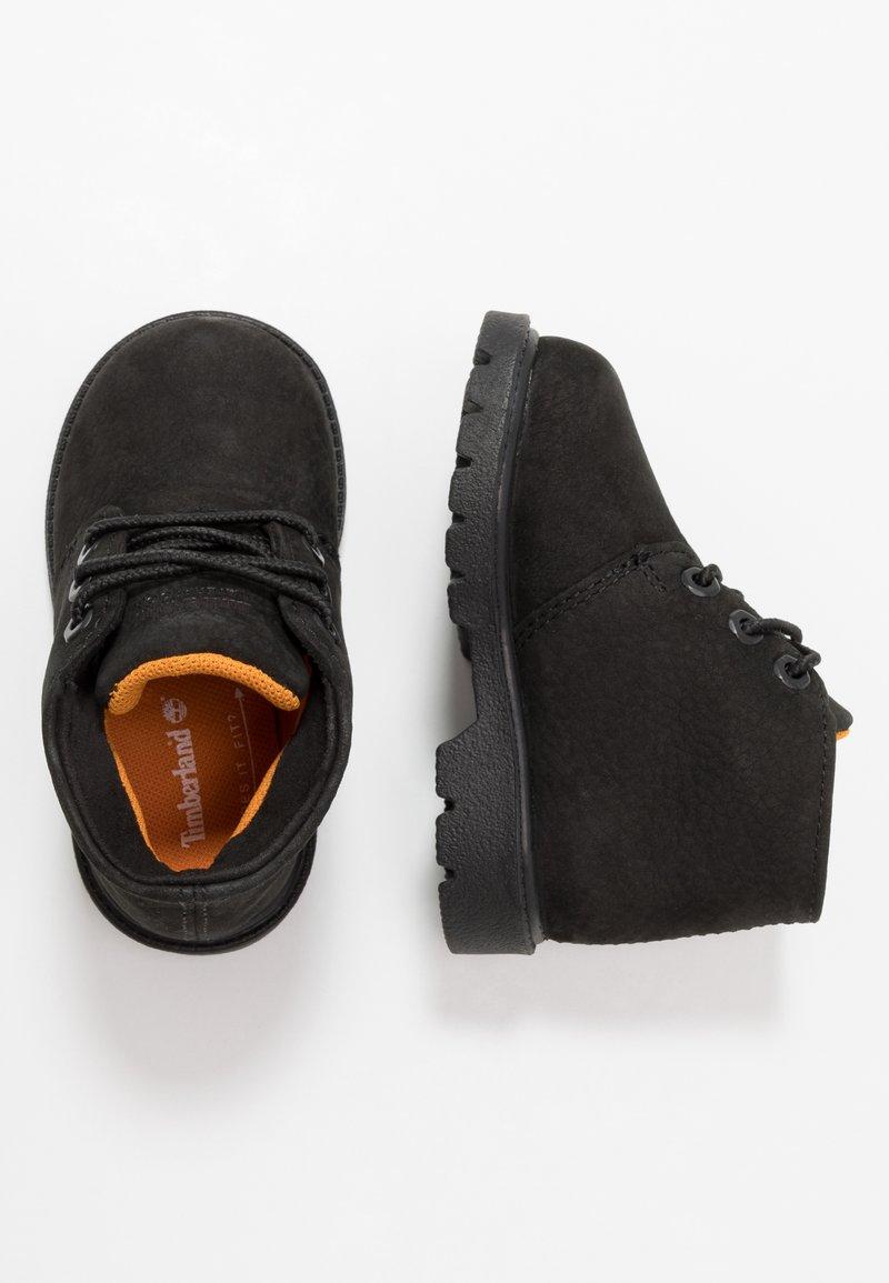 Timberland - CHUKKA WP - Snørestøvletter - black