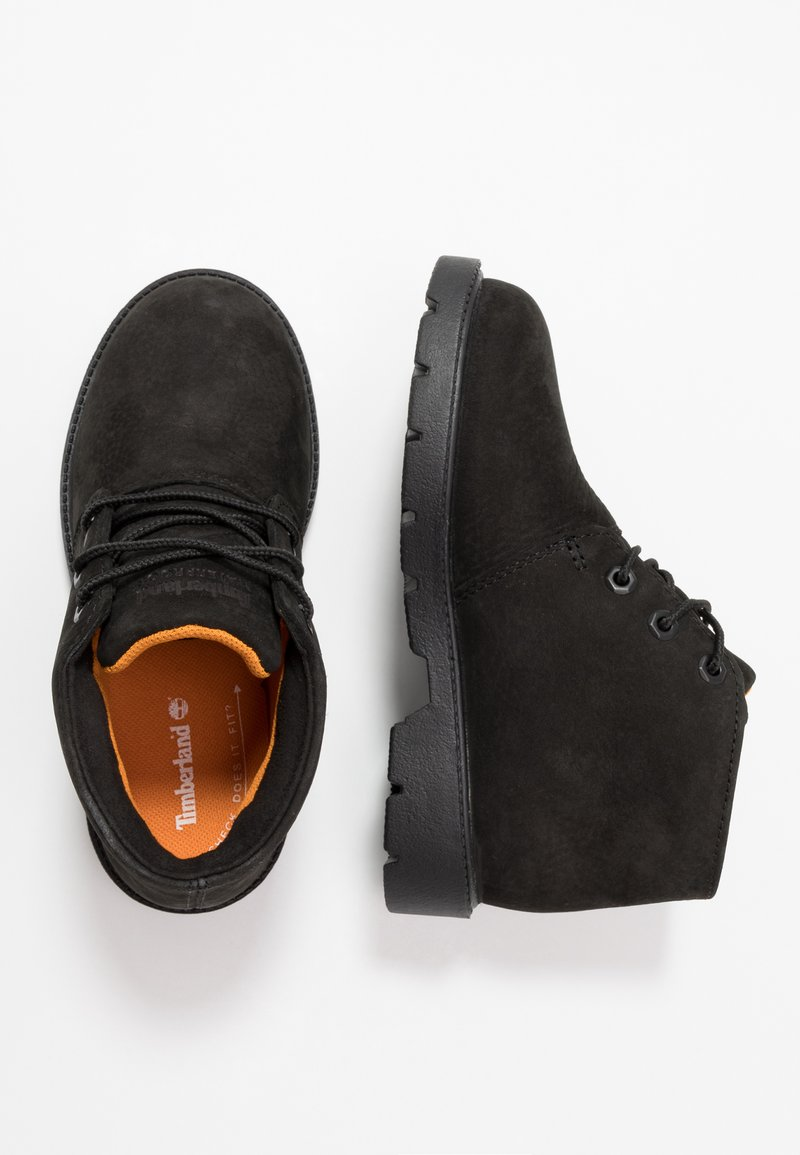 Timberland - CHUKKA WP - Lace-up ankle boots - black