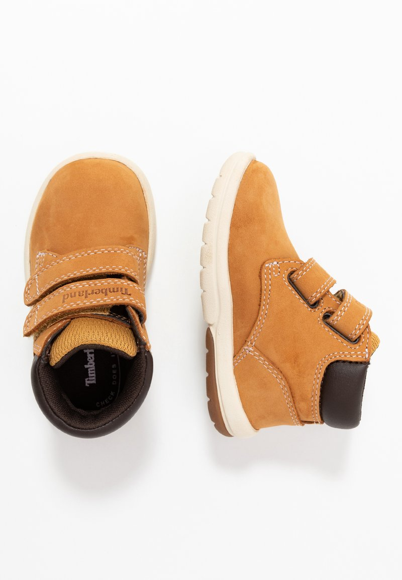 Timberland - TODDLE TRACKS BOOT - Baby shoes - wheat