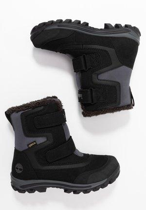 CHILLBERG 2-STRAP GTX - Zimní obuv - black