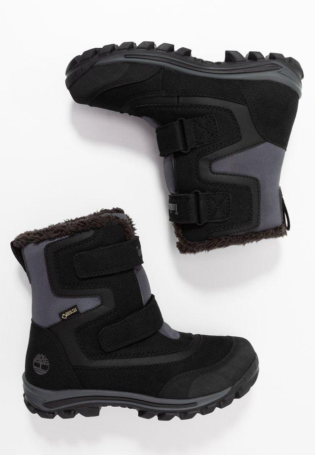 CHILLBERG 2-STRAP GTX - Snowboot/Winterstiefel - black