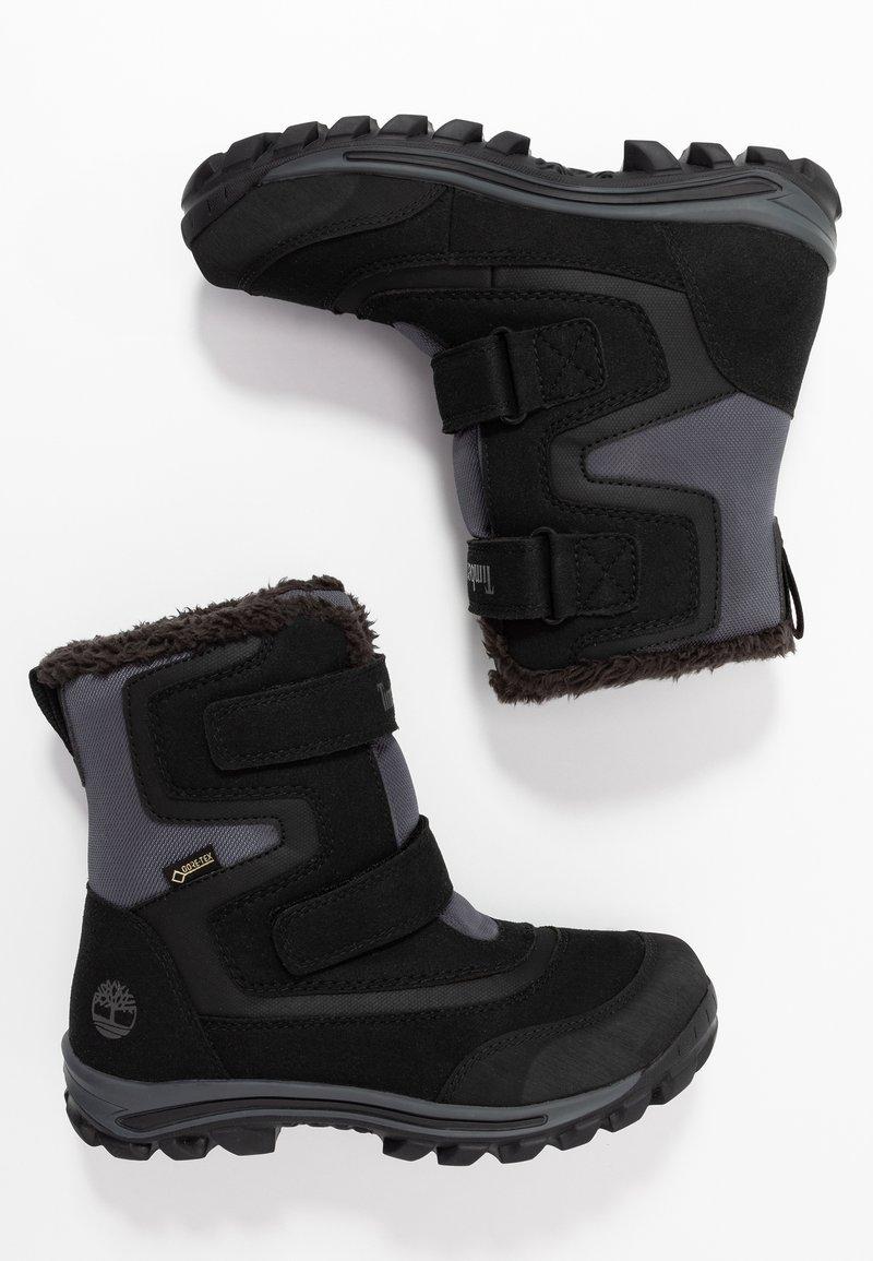 Timberland - CHILLBERG 2-STRAP GTX - Winter boots - black