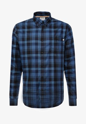 BACK RIVER BRUSHED PLAID SHIRT REGULAR FIT - Camicia - dark sapphire