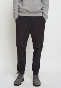 Timberland - WOODWOOD 2IN1 HIKE PANT - Tracksuit bottoms - obsidian - 0