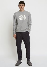 Timberland - WOODWOOD 2IN1 HIKE PANT - Tracksuit bottoms - obsidian - 1