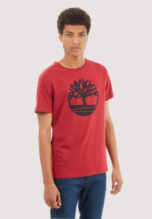 SS KENNEBEC  - Print T-shirt - red