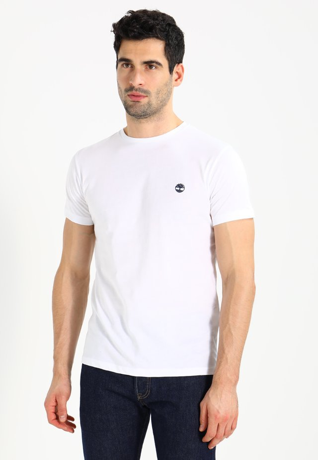 CREW CHEST - T-paita - white