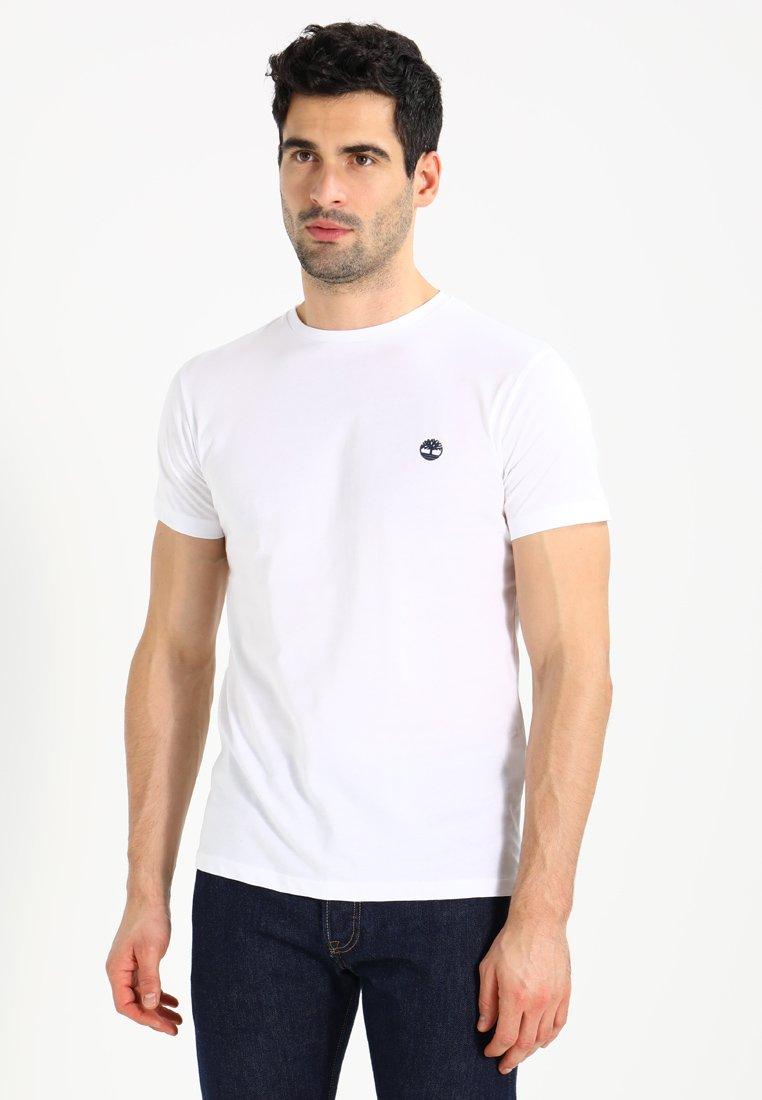 Timberland - CREW CHEST - T-Shirt basic - white