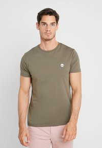Timberland - CREW CHEST - T-Shirt basic - grape leaf - 0