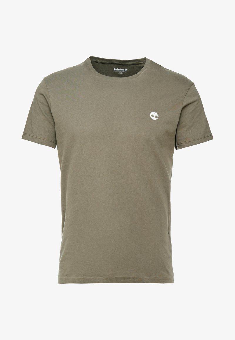 Timberland CREW CHEST - T-shirts - grape leaf