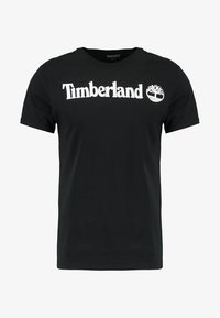 Timberland - CREW LINEAR  - Printtipaita - black - 4