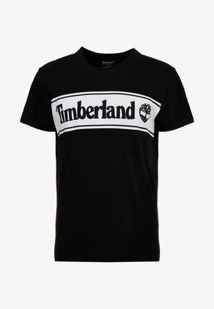 CUT & SEW TEE - T-Shirt print - black