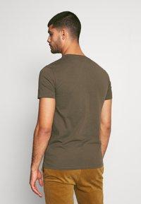 Timberland - DUNSTAN RIVER POCKET SLIM TEE - T-shirt basic - grape leaf - 2