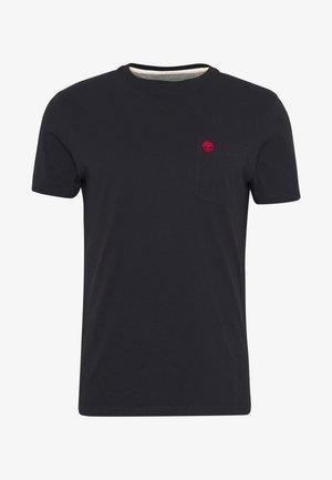 DUNSTAN RIVER POCKET SLIM TEE - T-shirt basic - black